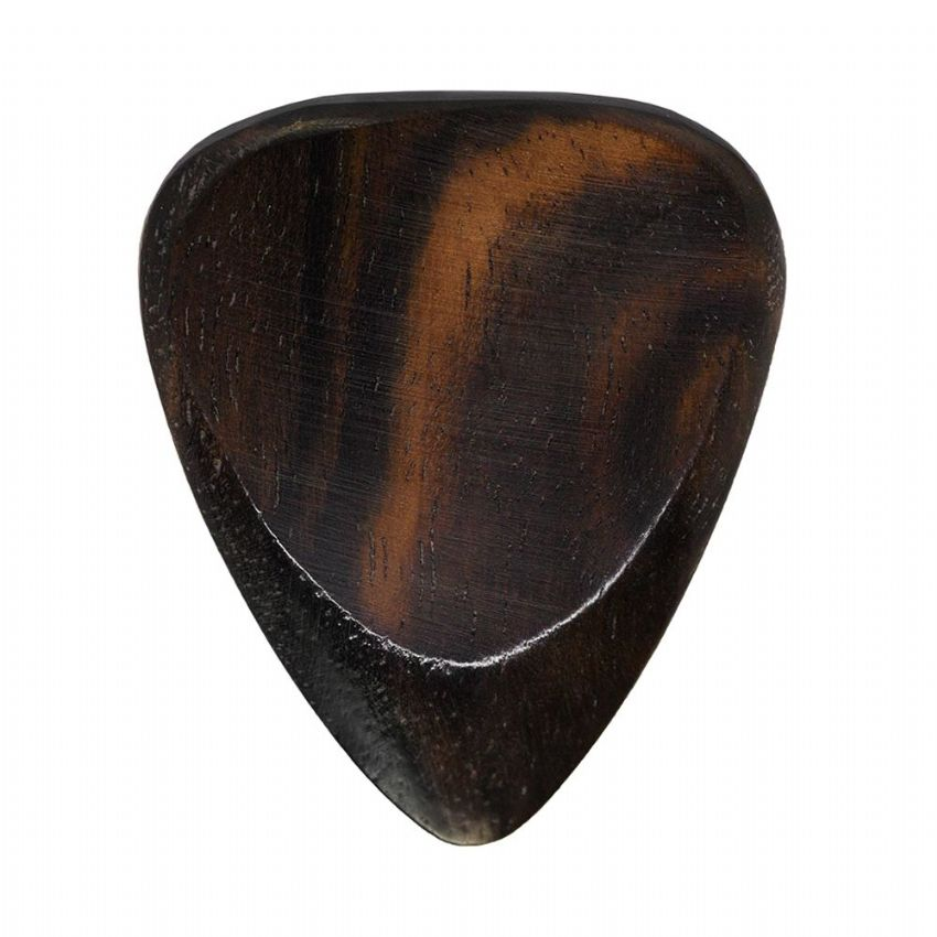 Timber Tones Fat - Ebony - 1 Guitar Pick | Timber Tones